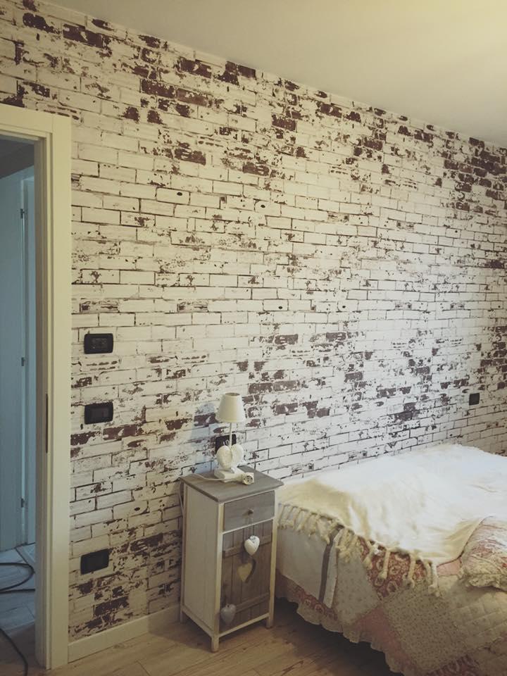 Pellicola stampata con effetto wall bricks