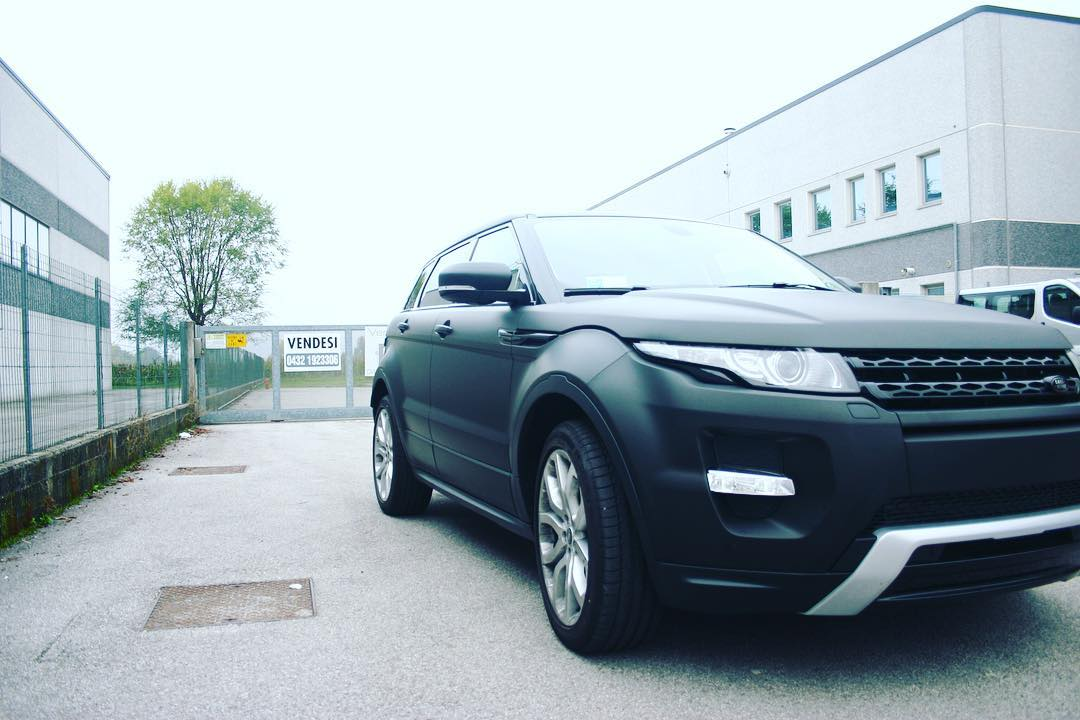 Wrapping Range Rover Evoque - 3M 1080